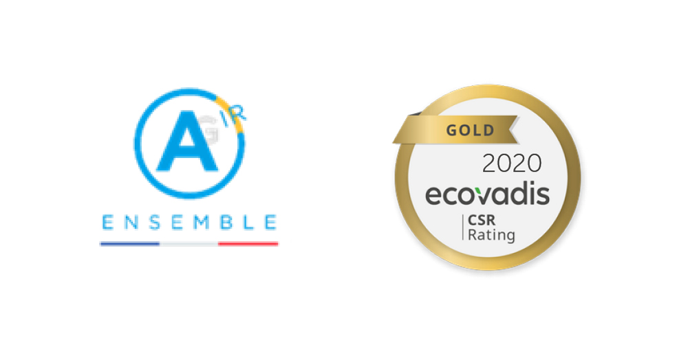 AG Dynamics certifié Ecovadis gold
